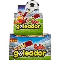 Goleador Cola, la Doppia Caramella Gommosa, Box da 200 Pezzi, Gusto Cola, 2 Caramelle per Incarto, Ideale per Feste per…