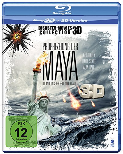 Prophezeiung der Maya (Disaster Movie) [3D Blu-ray + 2D Version]