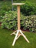 Vogelhaus-Ständer-(S1)-Vogelhäuser Vogelfutterhaus Vogelhäuschen-aus Holz-DHL Schreinerarbeit