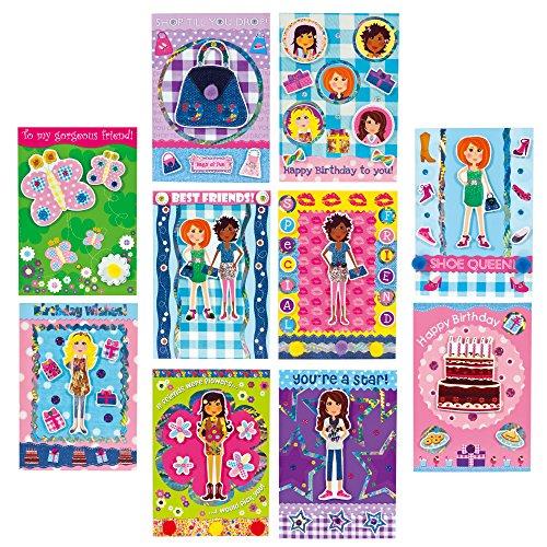 Imagen principal de Galt Toys Girl Club - Juego para hacer tarjetas (mensajes en inglés)
