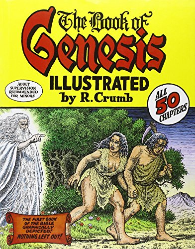 The Book of Genesis Illustrated by R. Crumb Cover Image