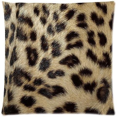 Casebynow Custom Animal Leopard Zebra Print Personalized Cushion Case 18x18