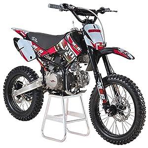 61ME3jqnQlL. SS300  - M2R Racing KM140MX 140cc 17/14 86cm Red Dirt Bike Big Wheels
