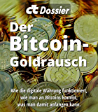 c't Dossier: Der Bitcoin-Goldrausch: Wie die digitale Währung funktioniert, wie man an Bitcoins kommt, was man damit anfangen kann.