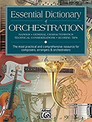 Essential Dictionary of Orchestration: Pocket Size Book (Essential Dictionary Series) by Dave Black (1998-10-01)