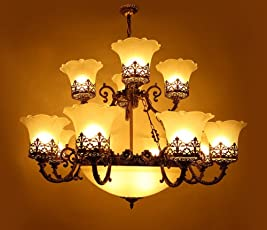 Chandelier buy chandeliers online at low prices in india amazon jhumer chandelier antique style aloadofball