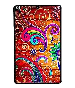PrintVisa Designer Back Case Cover for Apple iPad Mini 3 :: Apple iPad Mini 3 Wi-Fi + Cellular (3G/LTE); Apple iPad Mini 3 Wi-Fi (Wi-Fi, W/o GPS) (Abstract Illustration Colorful Decorative Graphic Attractive Vector )