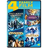 4 Family Movies Collection: Percy Jackson & the Olympians: The Lightning Thief + Narnia: The Voyage of the Dawn Treader + Eragon + The Seeker