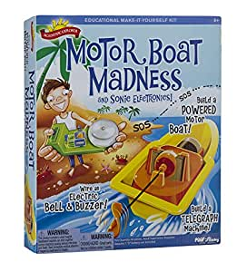 Slinky Scientific Explorers Motor Boat Madness Kit, Other, Multicoloured