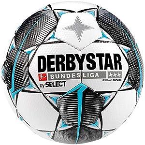 Derbystar Unisex Erwachsene Bundesliga Brillant Replica Fußball, Weiss...