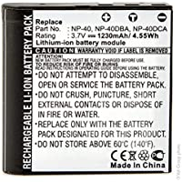 NX - Batterie photo 3.7V 950mAh - NP40 CASIO ; NP-40 CASIO ; NP-40DBA ;
