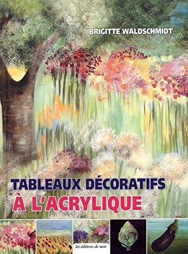 Tableaux décoratifs à l'acrylique