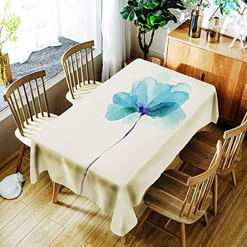 JJHR Tischwäsche Digitales Drucken Der Wasserdichten Tischdecke Des Tischdecken-Themas 3D