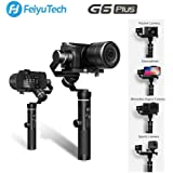 FeiyuTech G6 Plus Gimbal Stabilisator DSLR Gimbal Wasserdicht Handheld Stabilisator 800g Nutzlast 12 Stunden Laufzeit für Spiegellose Kamera, Pocket Kamera, GoPro, Smartphone