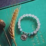 HLMHHL Thailand Elephant Peach Blossom Bracelet Strawberry Crystal Pink Crystal Bracelet Transfer Birthday Gift
