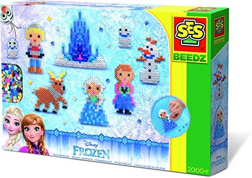 SES Creative - 06292 - Beedz: Perles À Repasser De L'Univers Disney La Reine Des Neiges