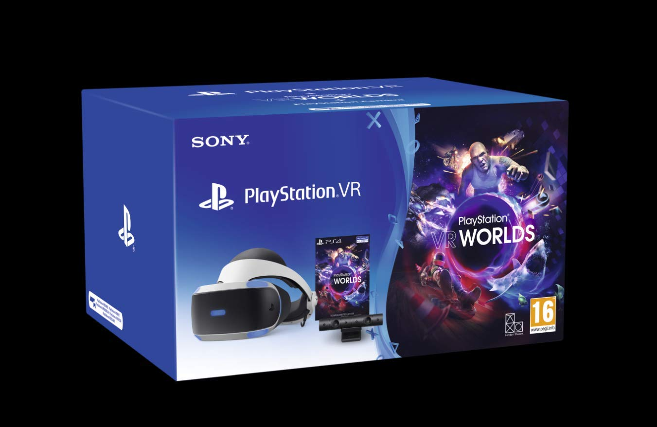 Nuovo Playstation 4 – PS VR Mk4 + Camera + Gioco VR Worlds (Voucher) – Pack [playstation_4]