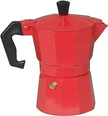 3dCreations Aluminium Aluminum (Polished) (300ml) South Indian Filter Degree Kaapi/Coffee Machine or Percolator/Perculator Or Italian Espresso Or Decoction Coffee Maker Cup or Moka/Mocha Maker