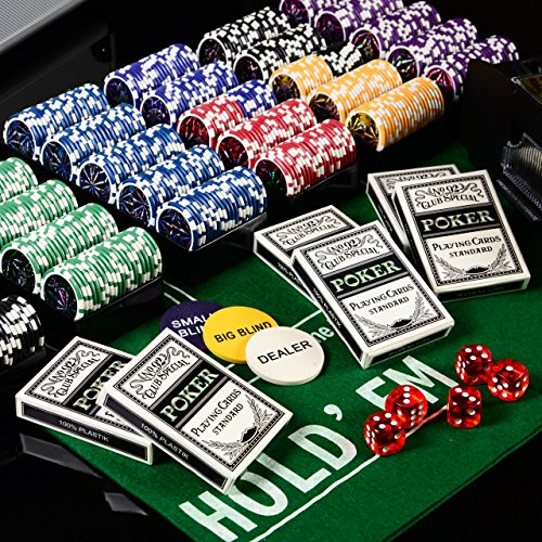 Pokerkoffer DeLuxe Pokerset mit 600 OCE...