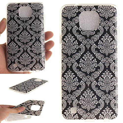 Ecoway copertura / coperture / insiemi di telefono / shell protettivi apparecchi telefonici mobili chiari e trasparenti Custodia TPU silicone Crystal per LG X Cam, case cover protettivo disegno speciale - TX-14