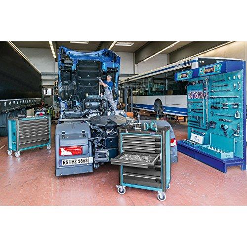 Hazet Werkstattwagen Assistent mit Sortiment, Anzahl Werkzeuge: 296, 1040 x 817 x 502 mm, 1 Stück, 179-8-2700-163/296 - 2