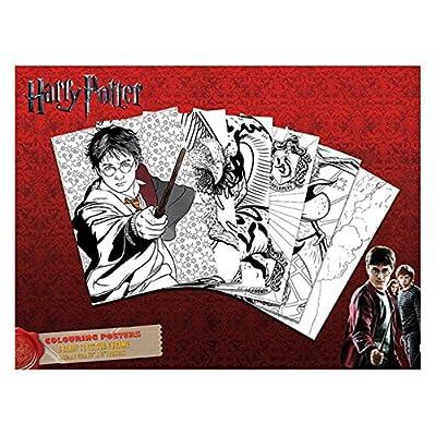 6Harry Potter couleur et cadre Affiches