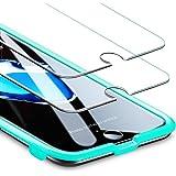 ESR Protector Pantalla para iPhone 7 Plus/8 Plus [2 Piezas][Fácil de Instalar] Cristal Templado 9H Dureza [3D Touch Compatibl