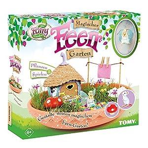 My Fairy Garden Toy Set - Jardín mágico de hadas para niños de 4 años con plantas y juegos propios, 1 jardín de hadas con semillas de hierba
