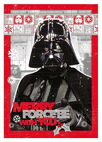 Adventskalender - Star Wars Adventskalender - Dart Vader - Schreibwaren - Basteln - Advent -...