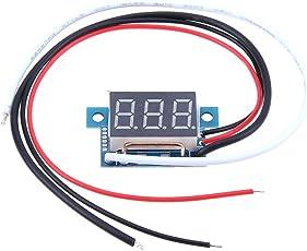 hillrong 0,9cm Digital Amperemeter 0–10A Strom Meter Netzteil Bereich 4–30V
