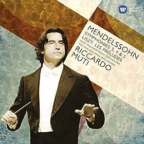Mendelssohn: Symphonies 3-5