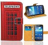 Samsung Galaxy S4 Active i9295 Handy Tasche, FoneExpert Wallet Case Flip Cover Hüllen Etui Ledertasche Lederhülle Premium Schutzhülle für Samsung Galaxy S4 Active i9295