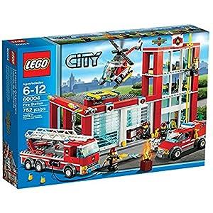 LEGO City Fire 60004 - Caserma dei Pompieri 5054480503136 LEGO