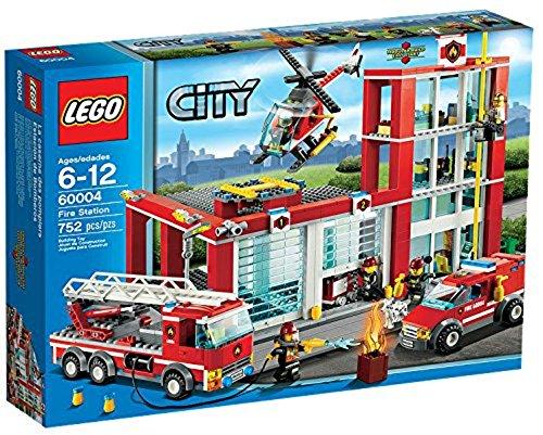 feuerwehrwache lego LEGO City 60004 - Feuerwehr-Hauptquartier
