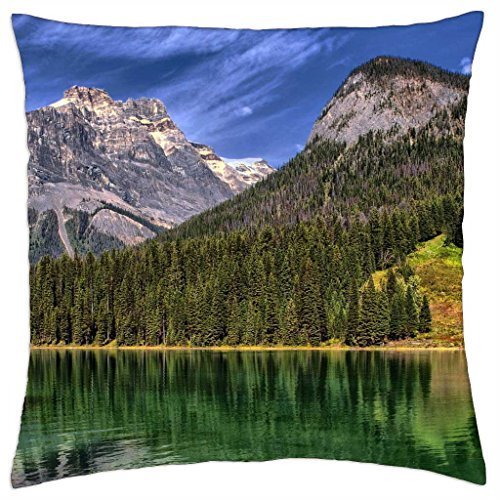 Emerald Lake, Yoho National Park, British Columbia, Canada - Throw Pillow Cover Case (18