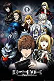 Grupo Erik FP3963 Poster Death Note Collage, carta, Multicolore,  91 x 61,5 x 0,1 cm