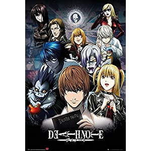 GB Eye Death Note Collage Maxi-Poster, 61 x 91,5 cm, Mehrfarbig