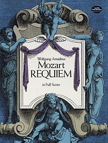 Requiem (Full Score): Partitur für Gemischter Chor (SATB), Orchester (Dover Vocal Scores)