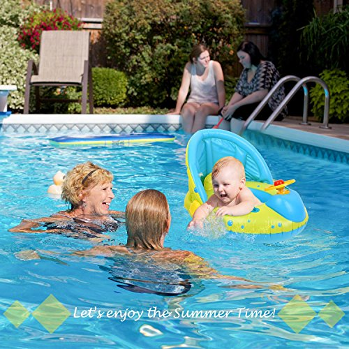 Peradix Aufblasbares Kinderboot Beach Sommer Hingucker für Wasserspaß - 7