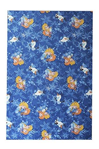 havatex Kinderteppich Disney Eiskönigin Frozen - pflegeleicht robust und strapazierfähig | schadstoffgeprüft | Schlafzimmer Kinderzimmer Spielzimmer, Farbe:Blau, Größe:200 x 300 (Frozen Schlafzimmer Ideen)