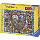 Ravensburger 16295 - Rizzi: All that love Puzzle, 1500 Teile