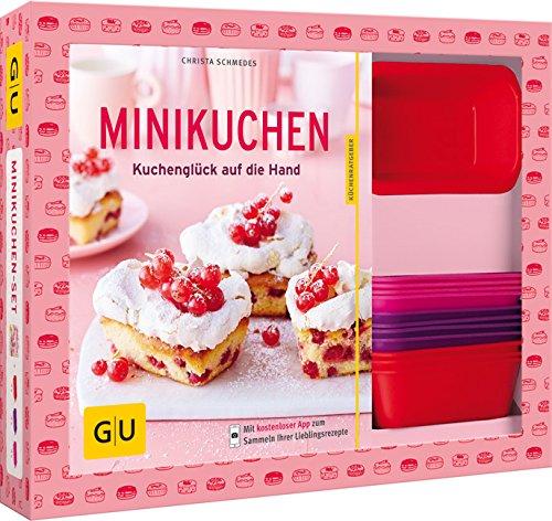 Preisvergleich Produktbild Minikuchen-Set: Kuchenglück auf die Hand (GU BuchPlus)