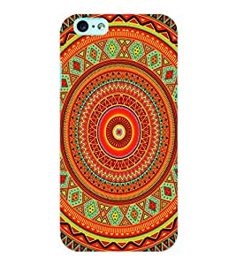 ColourCraft Tribal Pattern Back Case Cover for APPLE IPHONE 6