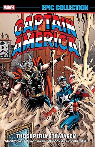 Captain America Epic Collection: The Superia Stratagem por Mark Gruenwald