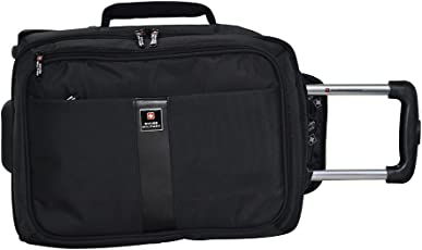 Swiss Military 23 Ltrs Black Softsided Briefcase (LTB-4)