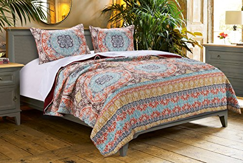 Barefoot Bungalow Olympia Quilt Set, 2-teilig, Twin Vogue-chic Mode