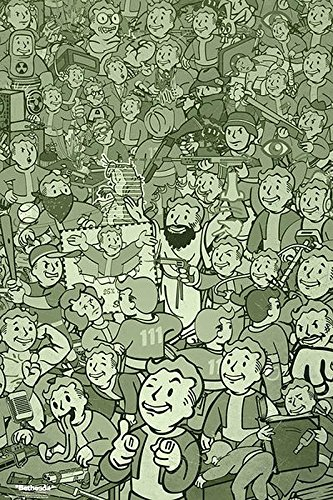 Close Up Poster Fallout - Compilation (61cm x 91,5cm)