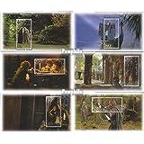 Nueva Zelanda Bloque 128-Bloque 133 (completa.edición.) 2001 Sr. el Anillos (sellos para los coleccionistas)