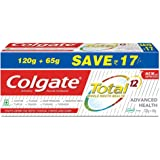 Colgate Total Advanced Health Anticavity Toothpaste - 185 g