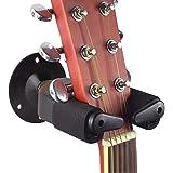 Western und E-Gitarren//Bässe K/&M 16280 Gitarren-Wandhalter schwarz für Konzert